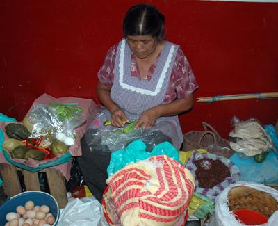 Teotitlan Market